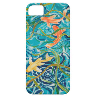 Blue Koi Pond iPhone 5 Covers