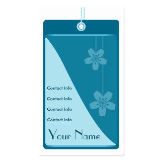 Blue Label Business Card