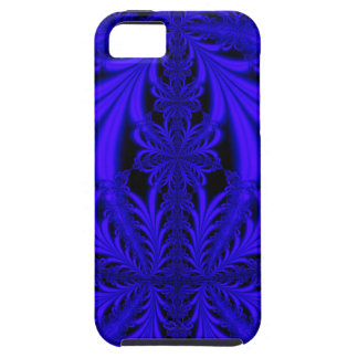 Blue Lace look Floral Fractal iPhone 5 Case