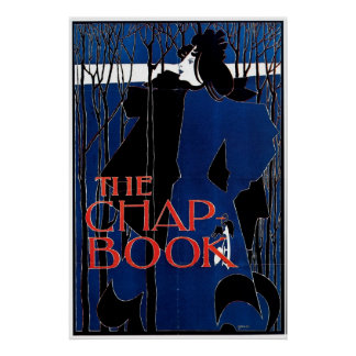 Blue Lady / The Chap Book 1894 ~ Vintage Poster
