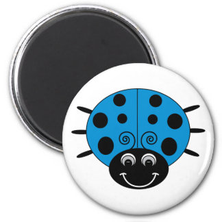 Blue Ladybug Magnet