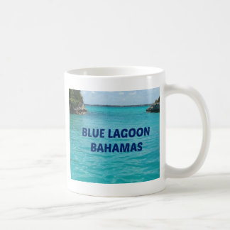 Blue Lagoon Bahamas Basic White Mug