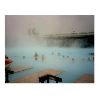 Blue Lagoon Iceland Postcard