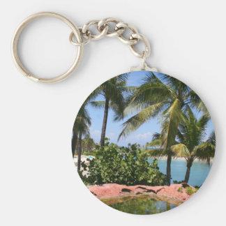 Blue Lagoon keychain