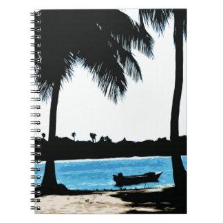 Blue Lagoon Spiral Notebook