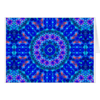 Blue Lagoon of Liquid Shafts of Light Note Card