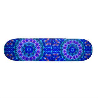 Blue Lagoon of Liquid Shafts of Light Skateboards