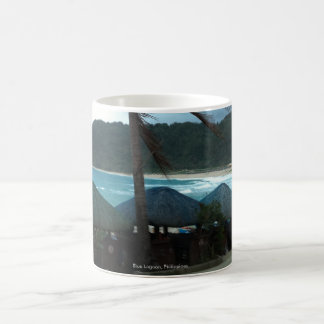 Blue Lagoon, Phl., Black/White 11 oz Morphing Mug