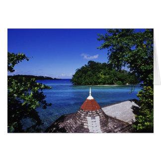 Blue Lagoon, Port Antonio, Jamaica Card