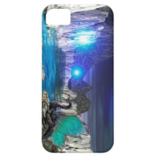 Blue Lake Dragon Barely There iPhone 5 Case