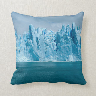 Blue Lake, Ice And Sky Cushion