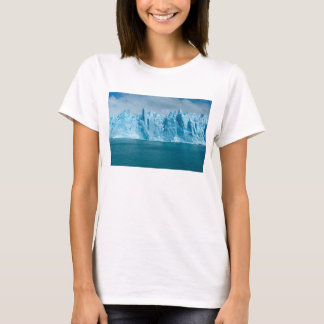Blue Lake, Ice And Sky T-Shirt