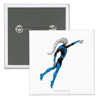Blue Lantern 10 15 Cm Square Badge