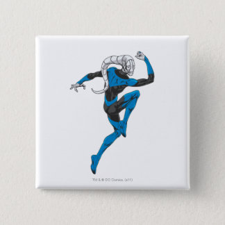 Blue Lantern 1 15 Cm Square Badge