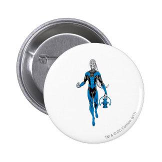 Blue Lantern 4 6 Cm Round Badge
