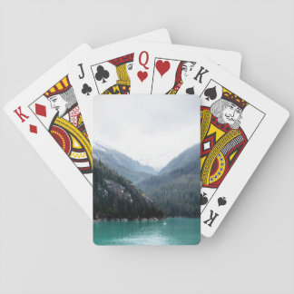 Blue Layers Playing Cards