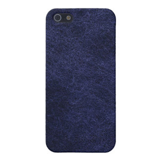 Blue Leather Case For The iPhone 4