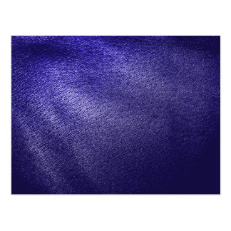 Blue Leather Look Postcard