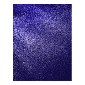 Blue Leather Look Postcard