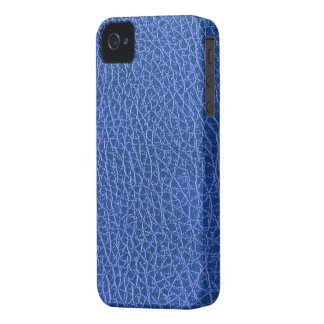 Blue Leather Texture iPhone 4/4S Case-Mate B.T.