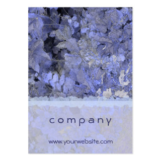 Blue Leaves Business Card