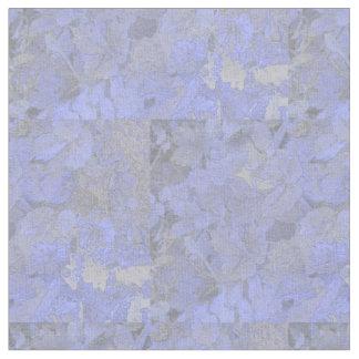 Blue Leaves Fabric
