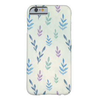 Blue leaves iPhone 6/6s Case