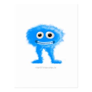 Blue Leggy Critter Postcards