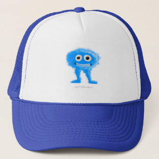 Blue Leggy Critter Trucker Hat