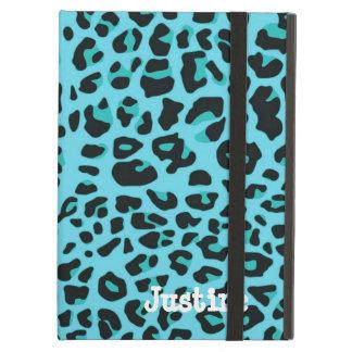 Blue Leopard Spots iPad Case