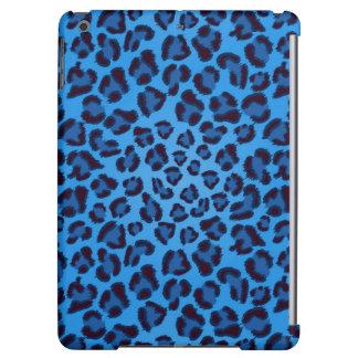 blue leopard texture pattern