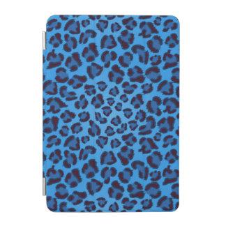 blue leopard texture pattern iPad mini cover