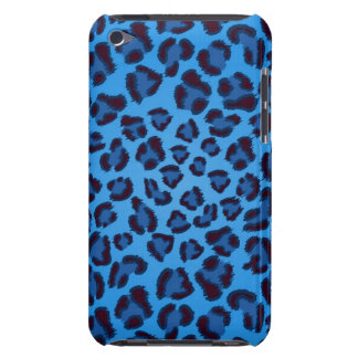 blue leopard texture pattern iPod touch cover