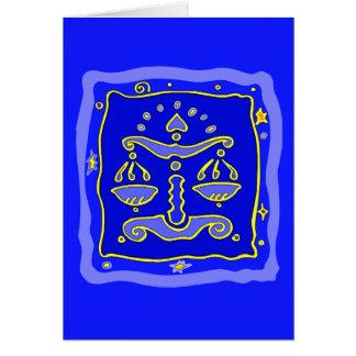 Blue Libra Card