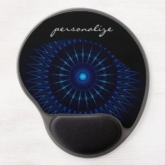 Blue Light Mandala Gel Mouse Pad