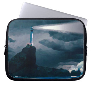 Blue Lighthouse funda_10 Laptop Computer Sleeve