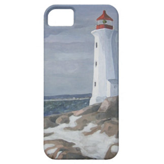Blue Lighthouse iphone iPhone 5 Covers