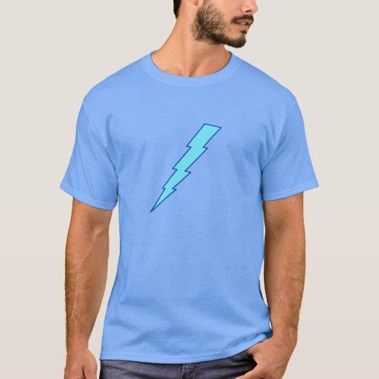 Blue Lightning Bolt T-Shirt