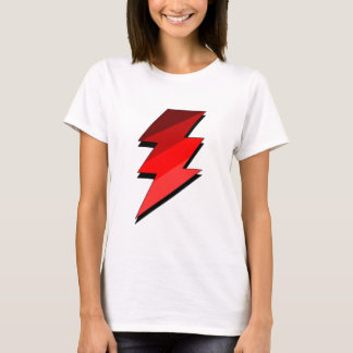 Blue Lightning Thunder Bolt T-Shirt