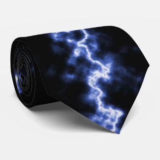 Blue Lightning Tie