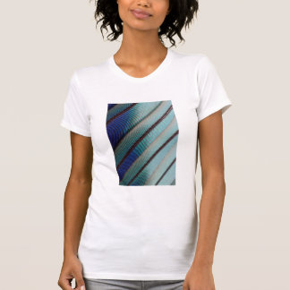 Blue Lilac Breasted Roller feather T-Shirt