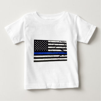 Blue Line Baby T-Shirt