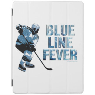 Blue Line Fever (Hockey) iPad Cover