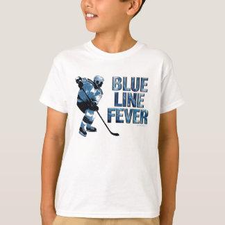 Blue Line Fever (Hockey) Tshirt