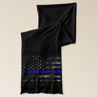 Blue Line Flag Scarf