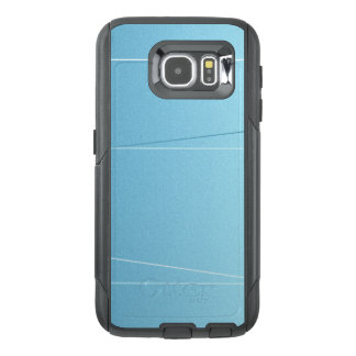 Blue Line Print OtterBox Samsung Galaxy S6 Case