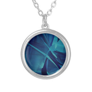 Blue Linear Mesh Jewelry