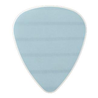 Blue Lined Polycarbonate Guitar Pick