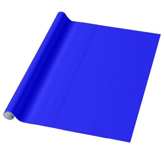 Blue Linen Wrapping Paper