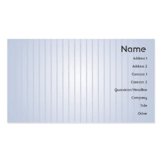 Blue Lines - Business Pack Of Standard Business Cards